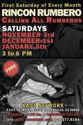 Rincon Rumbero - Saturday November 3rd, 2012