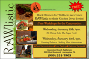 *FREE* Kitchen Divas Workshop - All Things Kale, with RAWlistic Living
