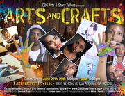 "CBG Arts & Storytellers presents... ""Arts & Crafts"" a new innovative play that heightens theater through visual arts"
