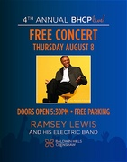 FREE BHCP Live! Concert with The Sun Goddess Tour, fea. Ramsey Lewis & his Electric Band 100%