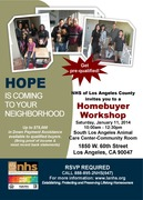 Neighborhood Housing Services HOPE Homebuyer Workshop