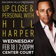Meet Hill Harper at Baldwin Hills Crenshaw!