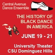 History of Black Dance in America June 19, 20 and 21
