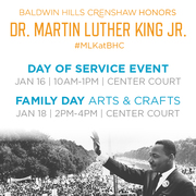 FREE 'Day of Service' Family Fun Event at Baldwin Hills Crenshaw!