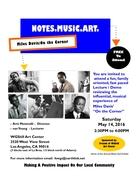 Notes.Music.Art. Miles Davis' On The Corner