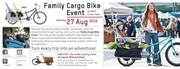 AIKA the Urban Cycling Store hosts a Family Cargo Bike Test Event