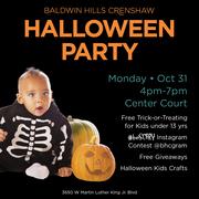 Free Trick-Or-Treating + Halloween Fun at Baldwin Hills Crenshaw