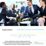 Job Club: The Art of Self -Salesmanship