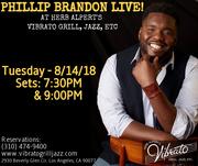 Billboard Recording Artist Phillip Brandon & Soulful Cabaret Live!