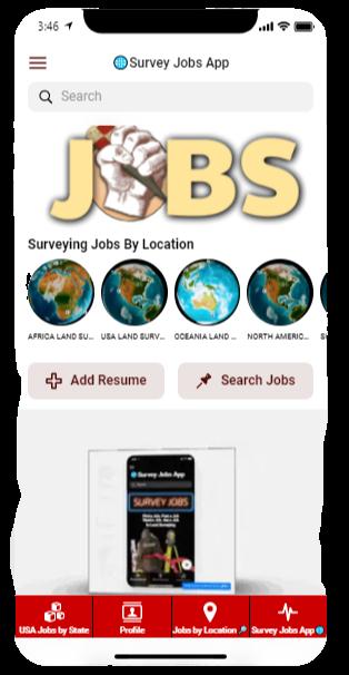 Land Surveyor Jobs App