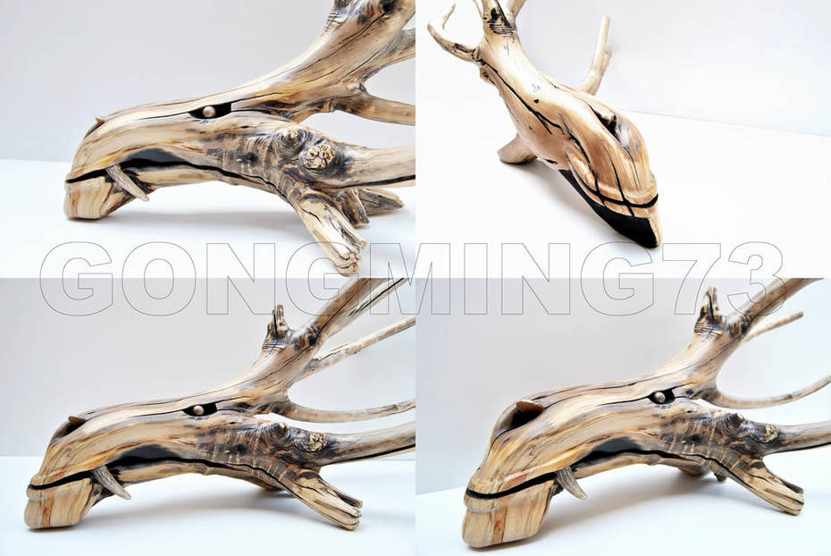 water dragon woodcraft by gonngming73