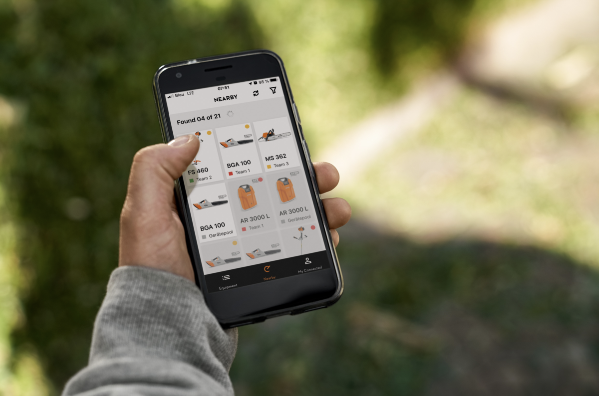 STIHL LAUNCHES NEW-LOOK CONNECTED APP