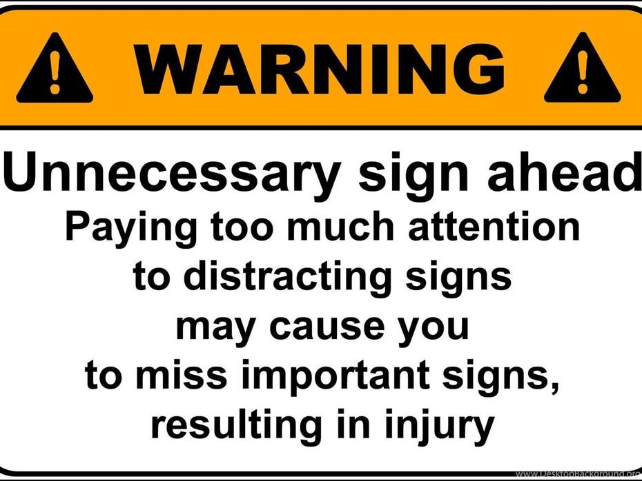 Warning -of warning