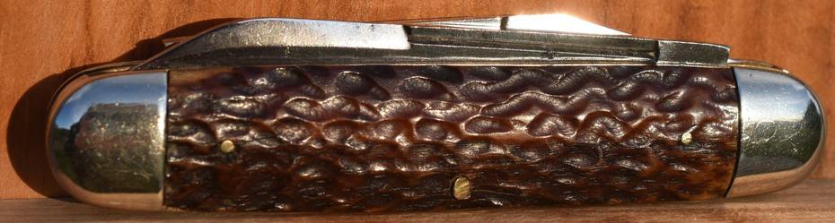 2 Wilbert Moose Reverse side showing Winchester type jigging