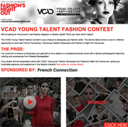VCAD Young Talent Fashion Contest