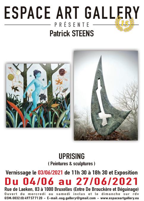 Affiche Patrick STEENS