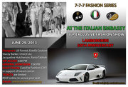 At the Italian Embassy Washington DC 7-7-7 Fashion Series