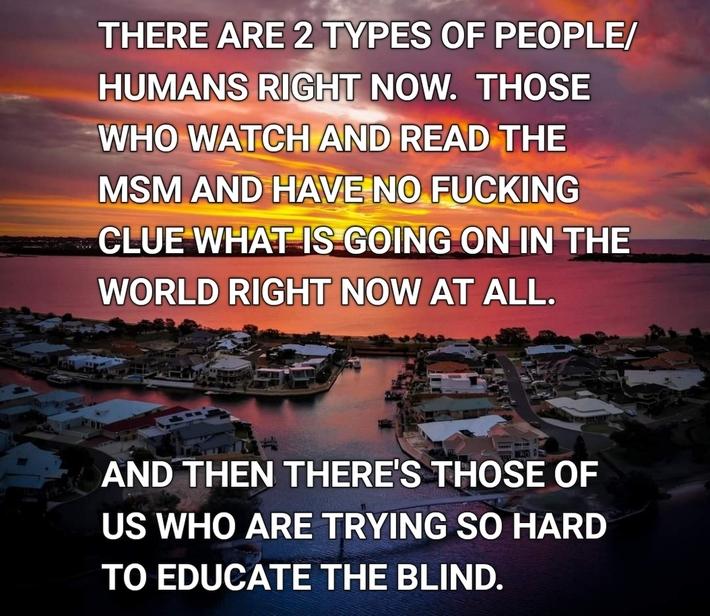 Please wake up People