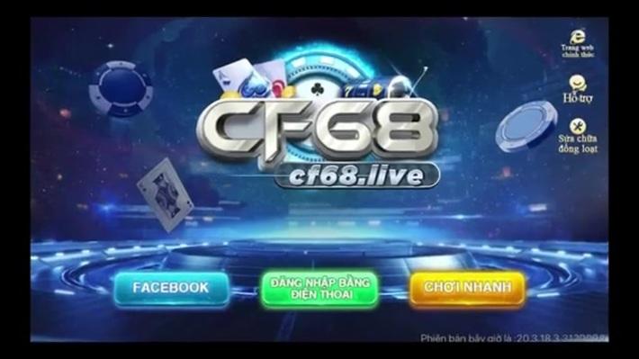 CF68 - CF68CLUB | TRANG CHỦ | TẢI GAME CHÍNH THỨC CF68