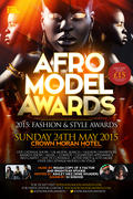 4th Annual Afro Model Awards 2015 & After Party