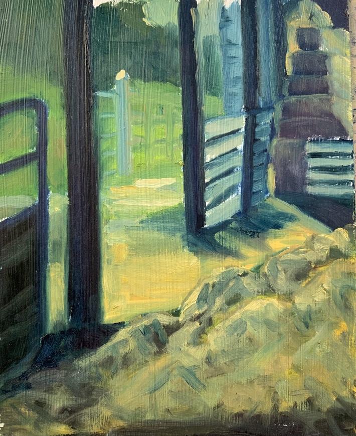 Wexford barn