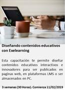 Diseñando contenidos académicos con Exelearning