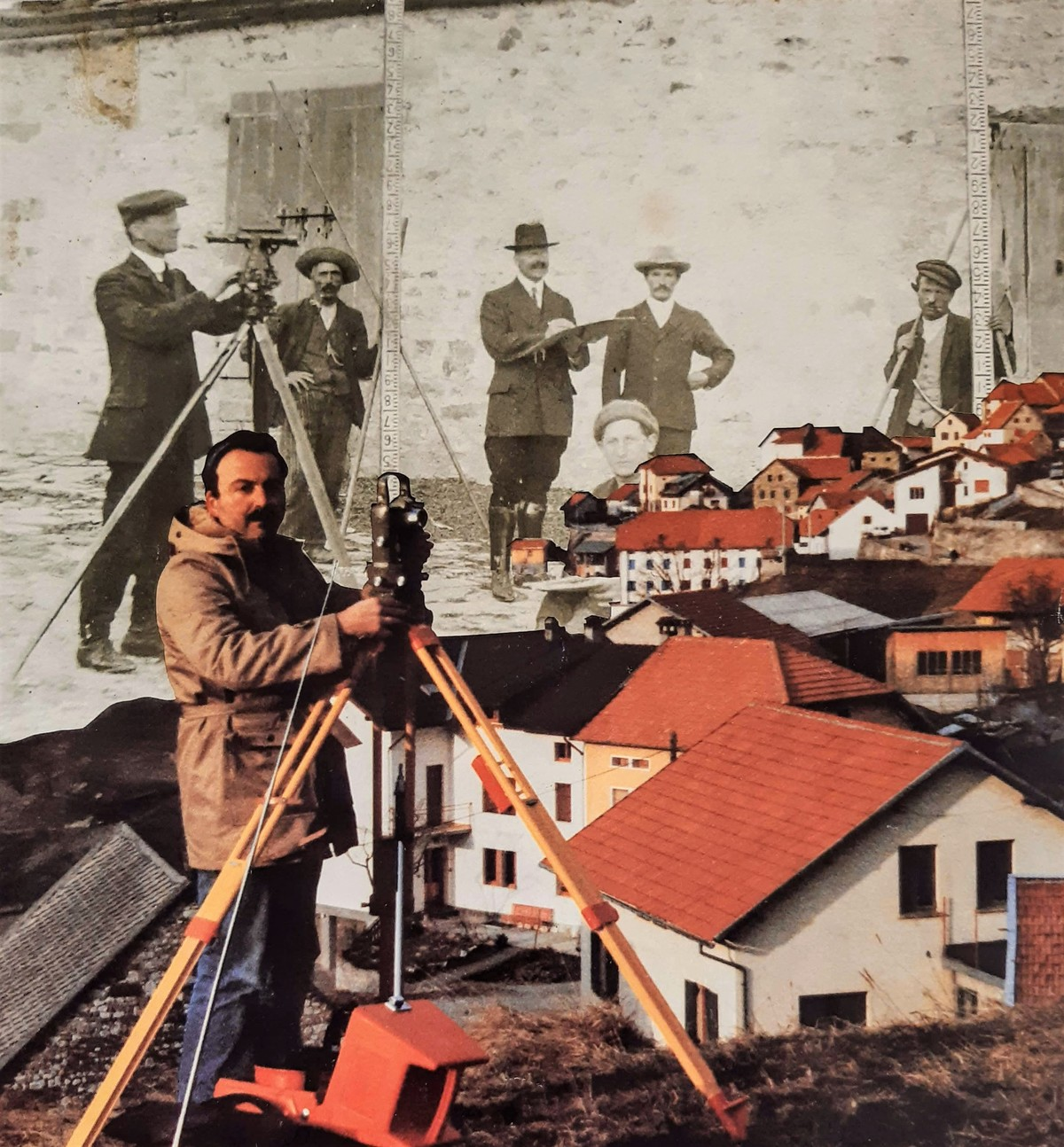 Surveying with Grandfather