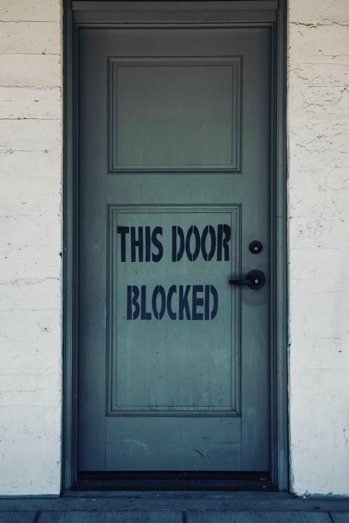 When a Door Slams