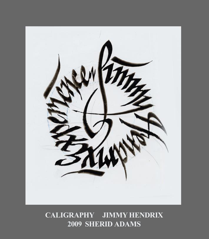 CALIGRAPHY HENDRIX