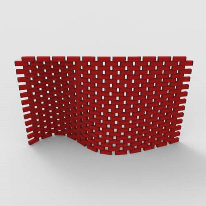 Parametric Brick Wall