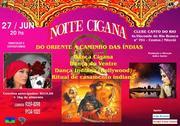 Noite Cigana do Oriente a caminho das Índias