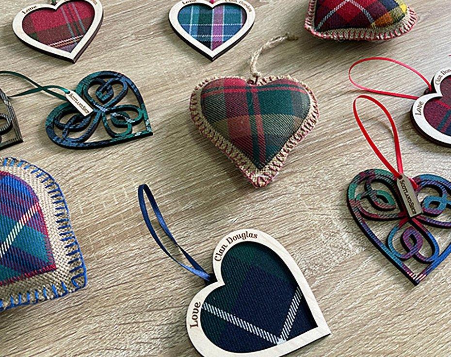Tartan heart