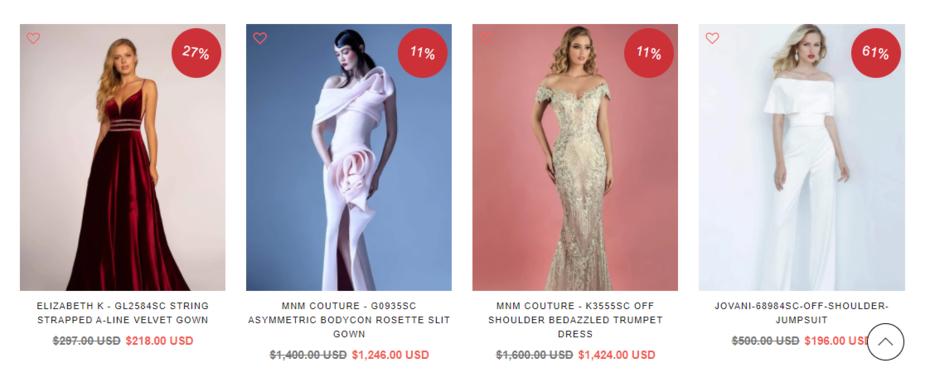 Avant-Garde Prom Dresses On Clearance Sale