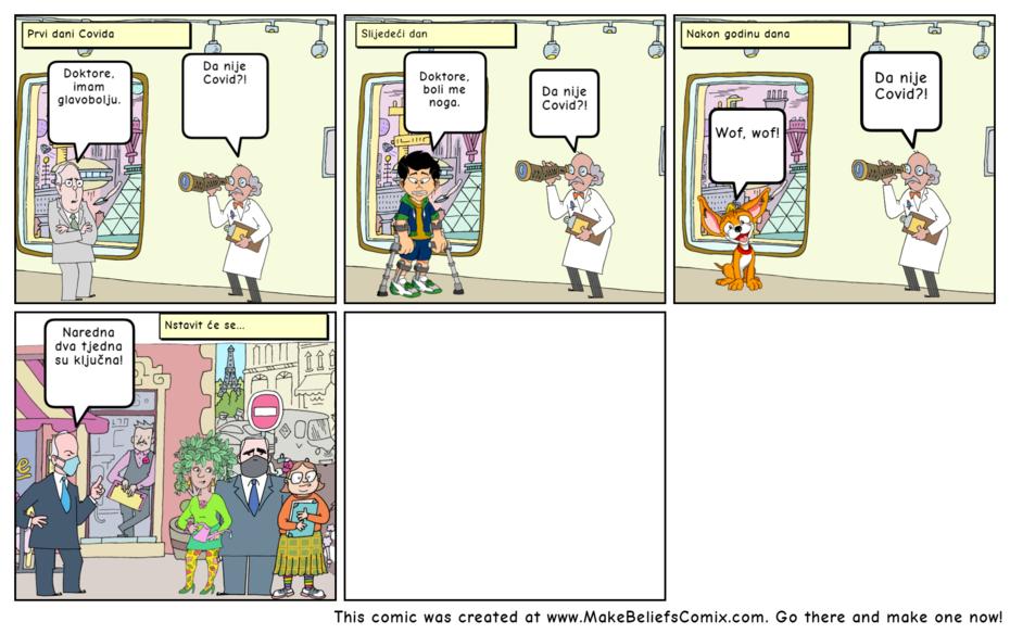 Covid comics