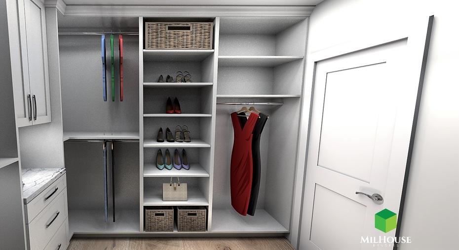Walking-in closet