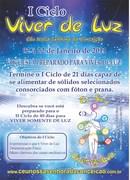 VIVER DE LUZ consorciado ao VEGETARIANISMO
