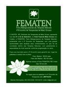 Feira Matogrossense de Terapias Naturais - FEMATEN
