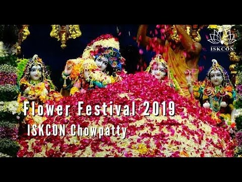 Flower Festival 2019 | Sri Sri Radha Gopinath Temple | 26th Jan 2019 | ISKCON Chowpatty,Mumbai