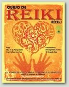 Iniciação Reiki I 16 e 17 de Março