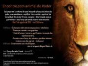 ENCONTRO COM ANIMAL DE PODER