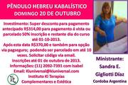 CURSO DE PENDULO HEBREU KABALISTICO