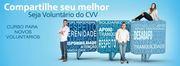 CURSO FORMAÇÃO NOVOS VOLUNTÁRIOS CVV