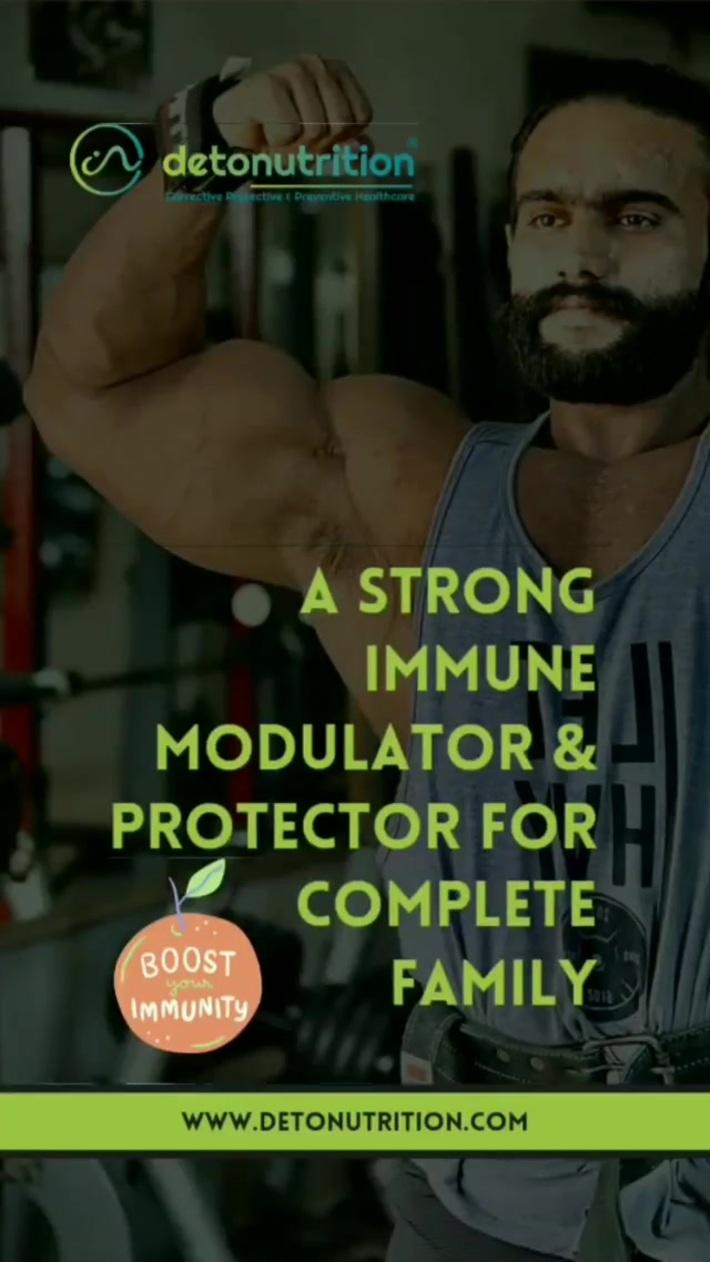 Best Immunity Booster Tablets   Detommune Capsules    Detonutrition India