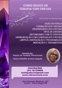 CURSO  DE TERAPIA COM CRISTAIS
