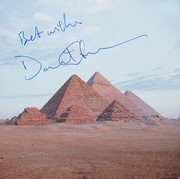 David Gilmour Signed Pink Floyd Dark Side of the Moon CD
