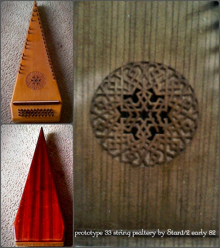 33 string bowed psaltery