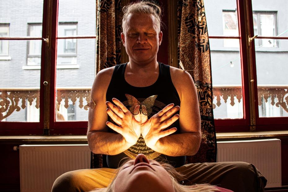 Steven doing healing 07