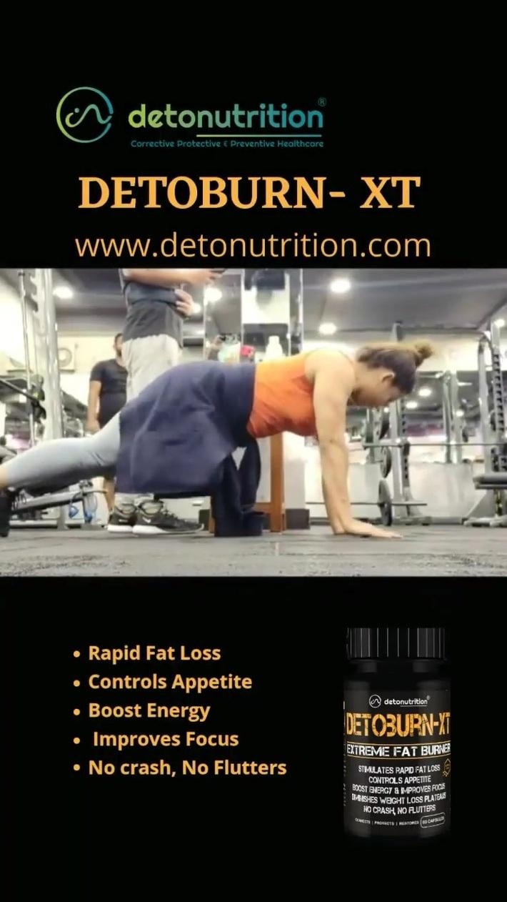 Detoburn-XT - Herbal Product for Weight Loss - Detonutrition India