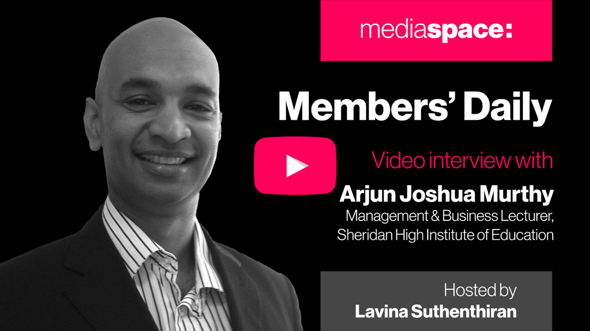 Exclusive video interview with Arjun Joshua Murthy, Sheridan High Institute of Education