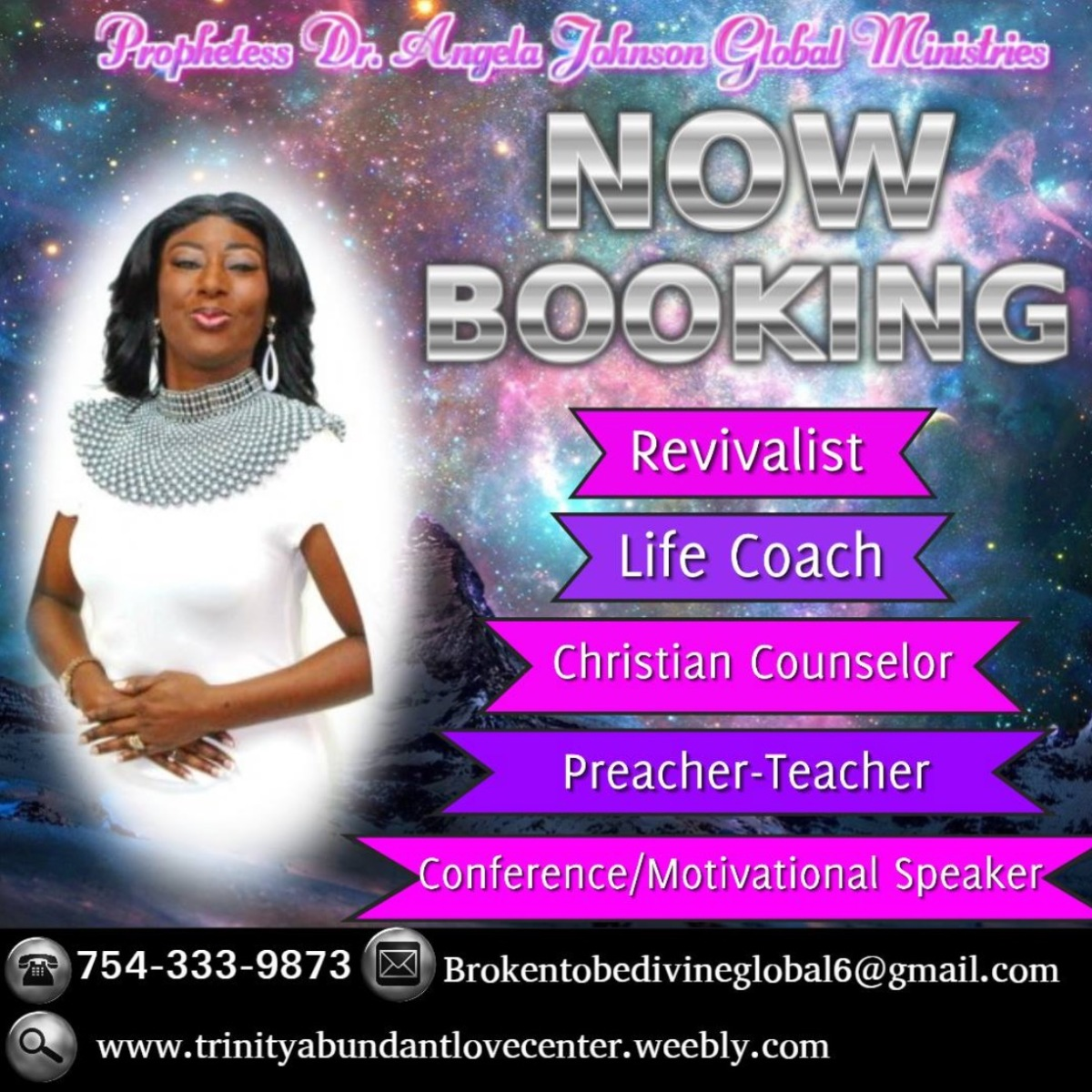 Prophetess Dr. Angela Johnson